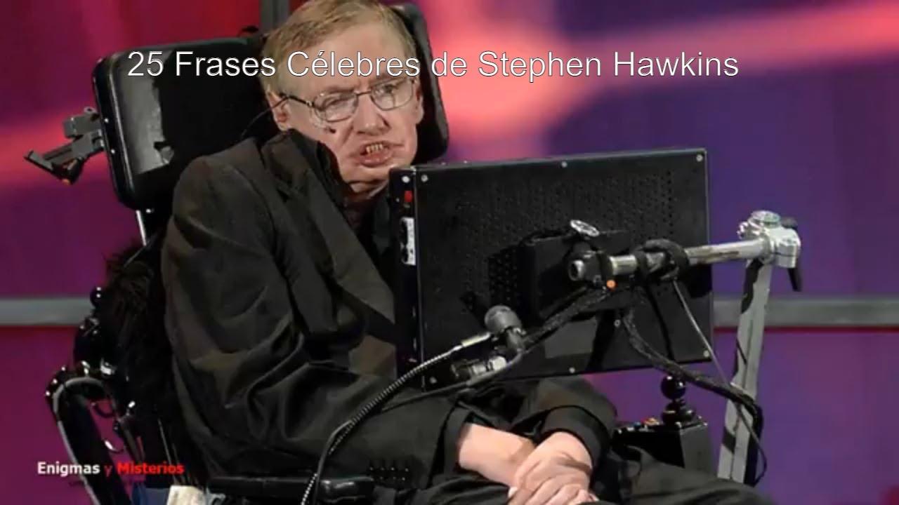 25 Frases Célebres De Stephen Hawkins