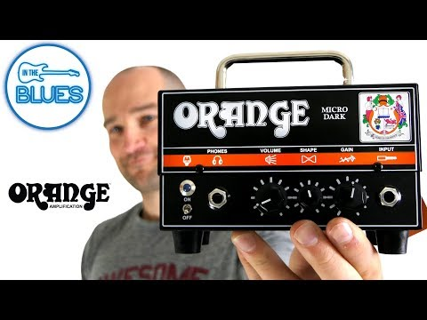 Orange Micro Dark 20 Watt Guitar Amplifier (Head and Cabinet)