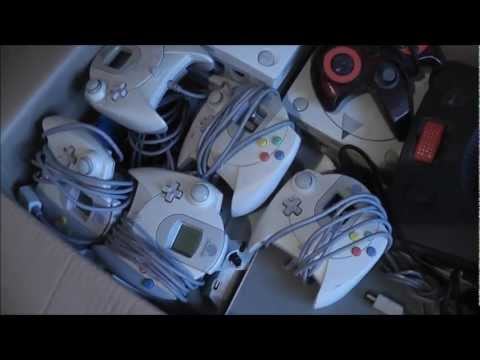 Retro Job Lot WIN! - Bargain Ebay Haul - Sega And Nintendo Consoles - Treamcast!