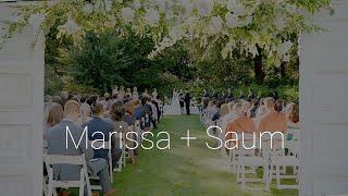 Marissa & Saum | Garden Wedding | Paul Cameron Productions
