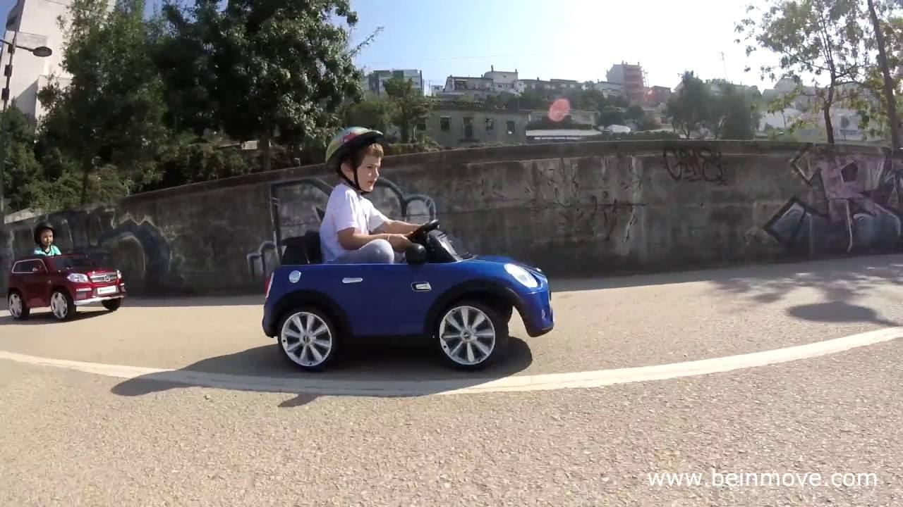 Mini Cooper Electric Mini Car For Kids Youtube