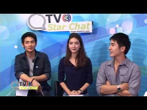 TV3 Star Chat - Pope & Mew คุณชายปวรรุจ (Khunchai Pawornruj)