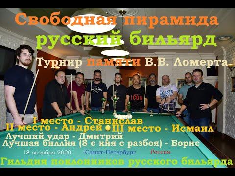 Турнир памяти Владимира Ломерта по свободной пирамиде 2020