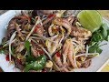 Octopus With Spicy Sauce Recipe / Quick And Easy Cooking / Cambodian Homemade Food