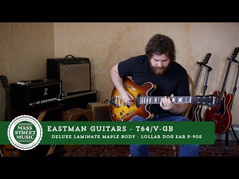 Eastman Guitars - T64/V-GB Demo