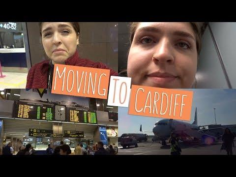 BUCHAREST TO CARDIFF! | Moving back to University!