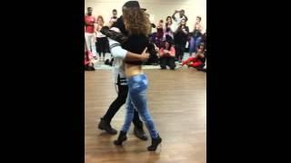 Ivo Vieira and Shani Mayer Kizomba musicallity Demo Edmonton