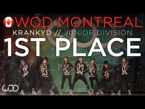KRANKYD | 1st Place - Junior Division | World of Dance Montreal 2015 #WODMTL