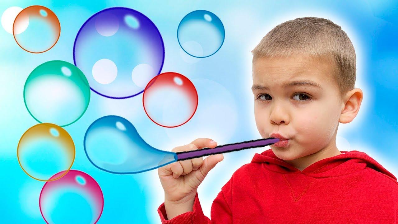 Dima go to Bubble Show in the PortAventura Park for kids