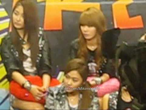 fancam 4minute  Channel V Thailand 2