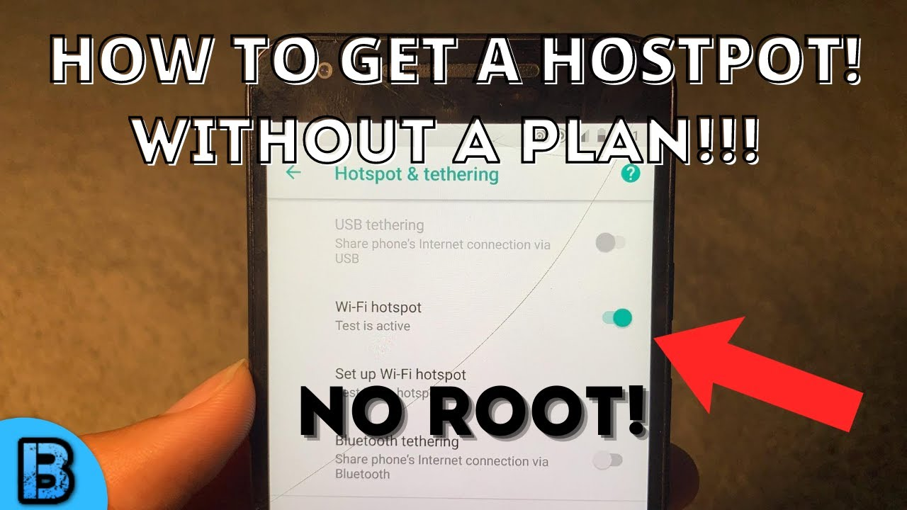 Download How To Turn on Mobile Hotspot Without a Plan! (No Root) UNPATCHED