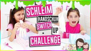 SCHLEIM Handschuh Mystery Box SWITCH UP Challenge 🧤 Ava vs. Leona - Alles Ava