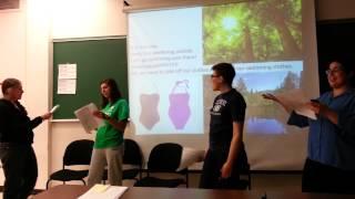 Ojibwe Language Class Skit