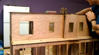Laser Dollhouse Design Assembly Video, The Catalina 1:12 Scale