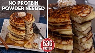 The Best Fluffy COTTAGE CHEESE Pancakes
