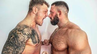 Kevin Wolter vs Michael Smolik! Bodybuilder vs MMA!! Die Boxautomaten Challenge!