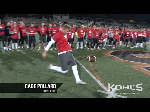 Cade Pollard | #6 Ranked Punter in America | Class of 2018