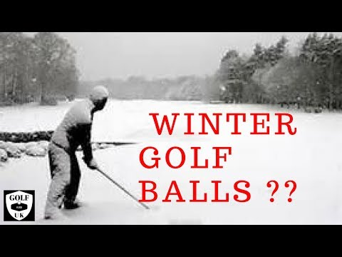 ARE PREMIUM GOLF BALLS WORTH IT FOR THE WINTER