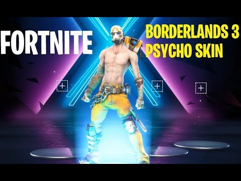 Fortnite - How To Get The Borderlands 3 Psycho Bundle Skin -
