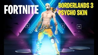 Fortnite - How To Get The Borderlands 3 Psycho Bundle Skin -