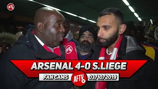 Arsenal 4-0 Standard Liege | Martinelli Mocked It Today!! (Moh)