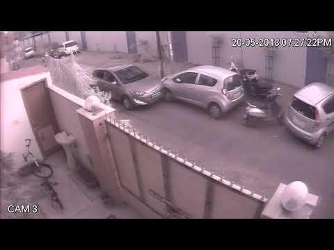 Car accident india cctv camera recording