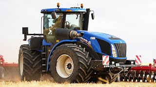 NEW HOLLAND T9 | Stoppelsturz ▶ Agriculture Germanyy