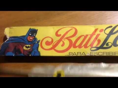 Batman rare toys very very hard find argentina batilapicera khanis