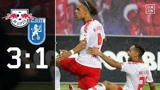 Bullen-Festspiele mit Schönheitsfehler: RB Leipzig - Craiova | Europa League | Highlights | DAZN
