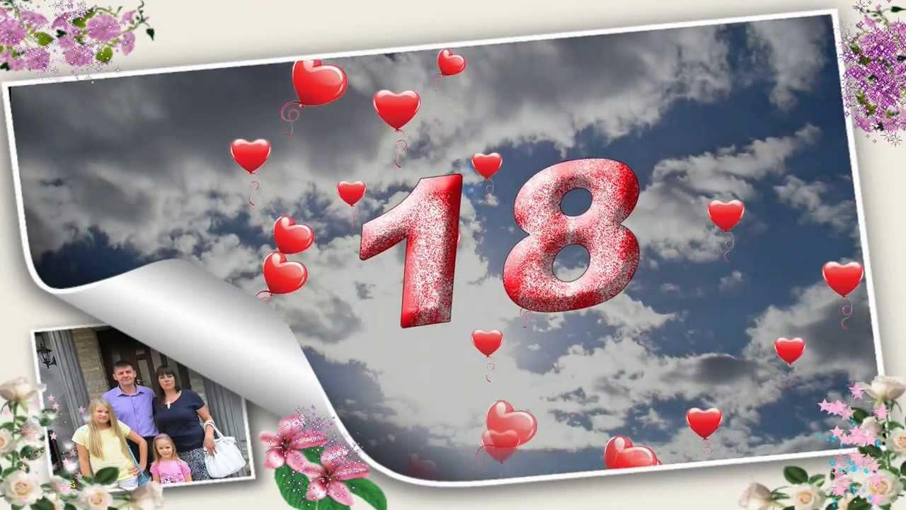 sretan ti 18 rođendan Lori, sretan ti 18. rođendan!   YouTube sretan ti 18 rođendan