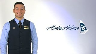 Alaska Airlines Flight Attendant Drew