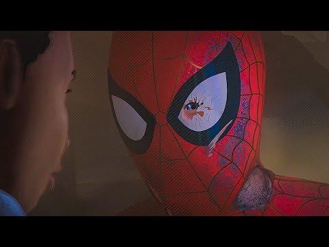 Смерть Питера Паркера / Кингпин убивает Человека Паука. Человек-паук: Через вселенные. 2018