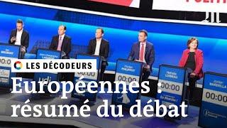 Elections européennes 2019 :le résumé du débat dans «L'Emission politique»