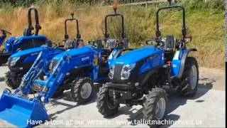 A Look at the Solis 26 Compact Tractor