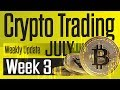 Bitcoin price predictions spot on!  Week 3, July  TA in under 10min!