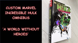 Custom Printed Marvel Hulk Omnibus