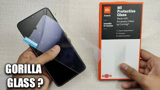 Mi Protective Glass Redmi Note 8 Pro Review & Installation in Hindi | Best Tempered Glass