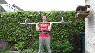 60 kg Overhead Press for 5 reps (5/3/1 C3/W2/D1)