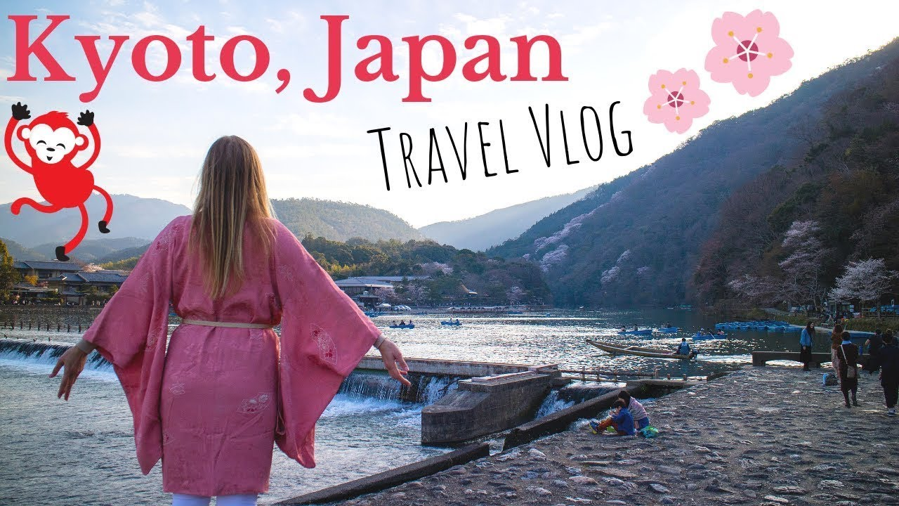 Kyoto Japan Travel Vlog - Monkey Hill, Bamboo Forest, Temples, and More [The Ski Week Japan]