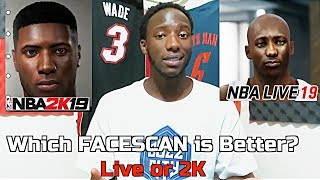 NBA 2K19 FaceScan Tutorial | Which is Better NBA Live or 2K Face Scan