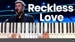 How to Play Reckless Love by Cory Asbury - Piano Tutorial and Chords