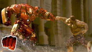 Hulk vs Hulkbuster Türkçe Dublaj Dövüş Sahnesi 1080p