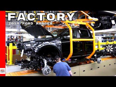 2019 Ford Ranger Pickup Truck Factory