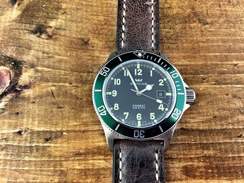 Glycine Combat Sub Watch Review