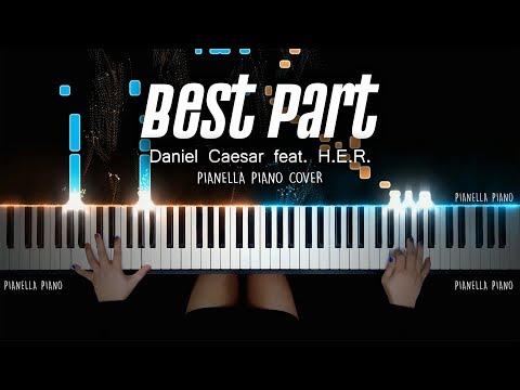 Daniel Caesar - Best Part (Feat. H.E.R.) PIANO COVER by Pianella Piano