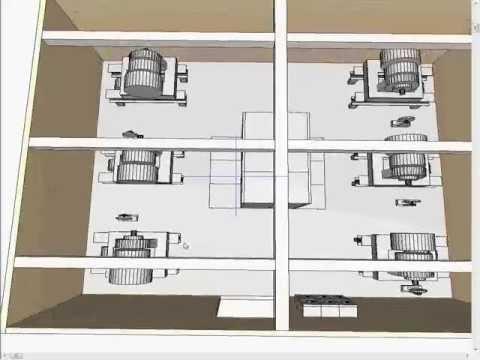 3D Building Information Model for Vertical Transportation