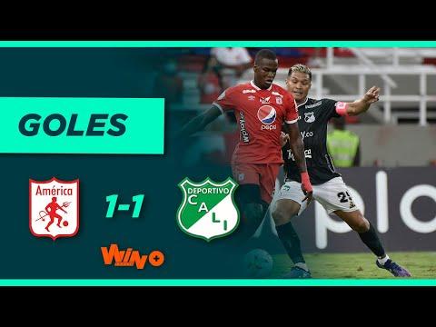 América de Cali vs. Deportivo Cali (1-1) | Liga BetPlay Dimayor 2021- II | Fecha 14