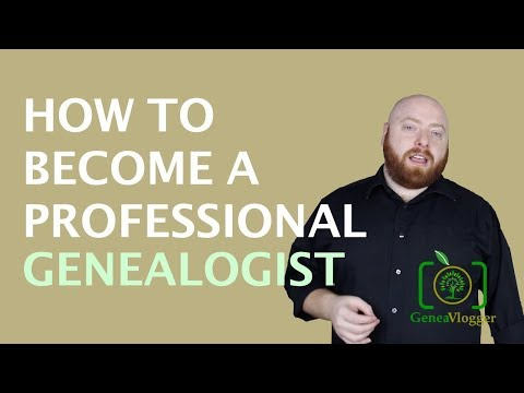 How To Become A Professional Genealogist (VLOG #40)