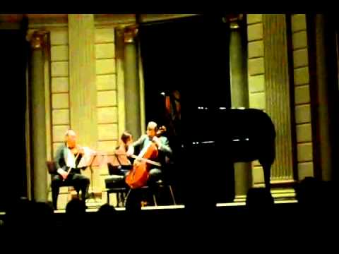 Mikhail & Elizaveta Kopelman, Mikhail Milman. Arensky Piano Trio in d minor part 2 of 4