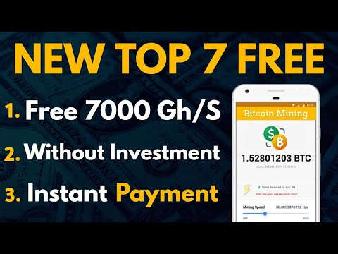 Top 7 Free Bitcoin Cloud Mining Site 2020 | Earn Free 0.0135 Bitcoin Daily Without Investment 2020